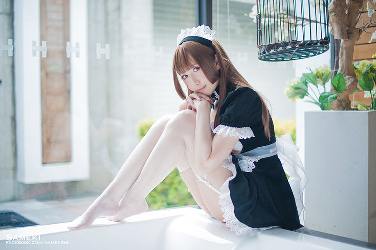 DL版💙Sameki Original Maid Photobook💙
