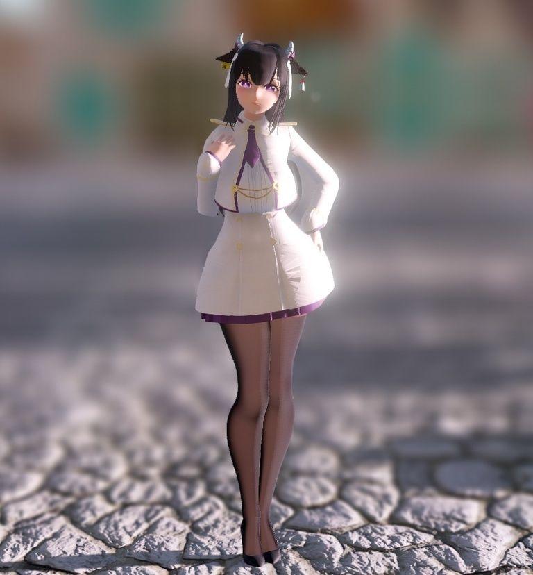 樫野(Kashino) MMDモデル ver.Uniform