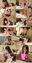 【個撮】非常にかわいいのに媚びない二人組!最後は素直にバックで並べておま○こ味比べ大乱交映像(3)