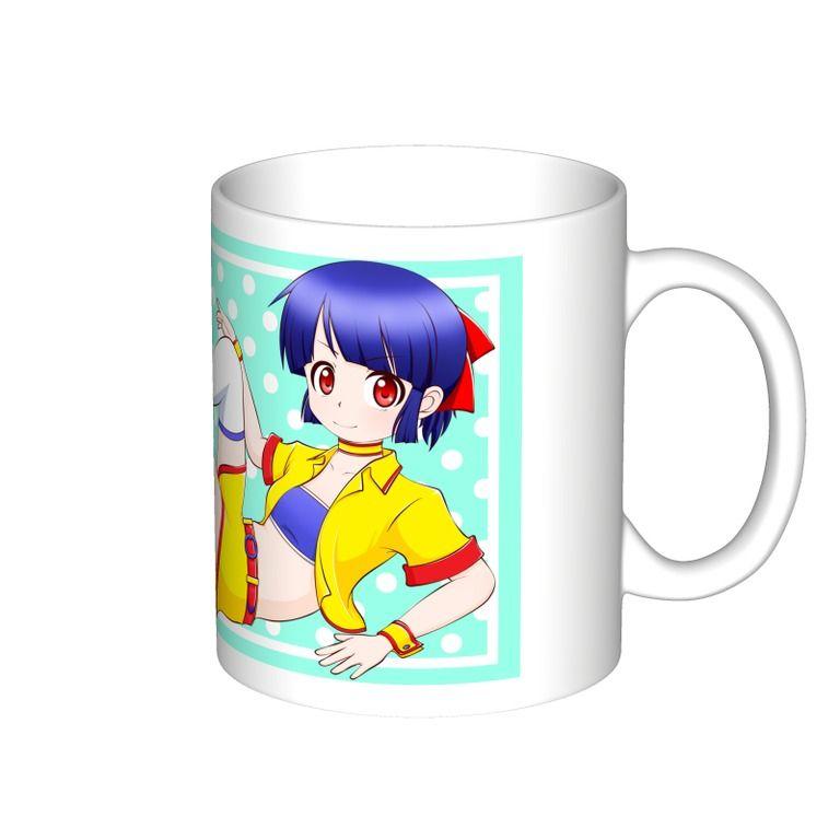 陽詩茉莉(ひなたまり)-マグカップ(大)-