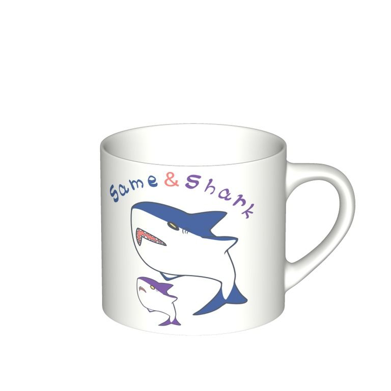 Same&Shark(1)マグカップ