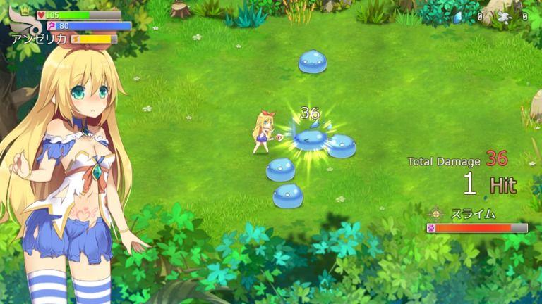 魔導姫アンゼリカ~魔女の秘法~ デモ1.0.1c