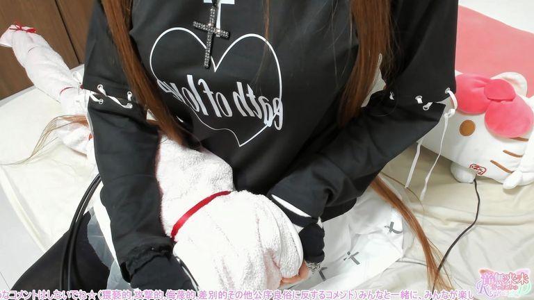 【メンバー限定】雑談&リクエストASMR♥黒×白の十字架が可愛いバンギャ服☆Part1【Dec. 27, 2020】