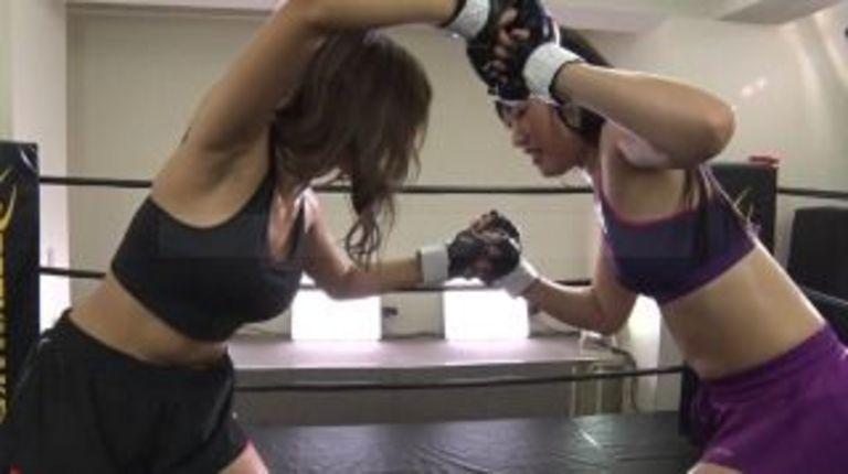 悶絶総合格闘技&キックボクシング 悠月アイシャvs小川ひまり Agito Mixed Martial Arts&Kickboxing Yutsuki Aisha vs Ogawa Himari