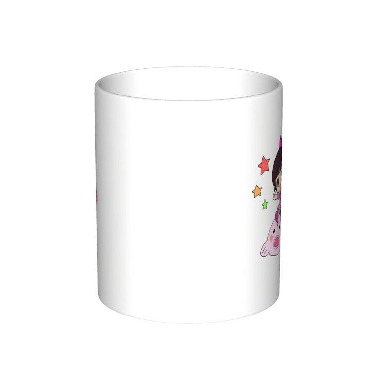 マグカップ(大)-桃月えりon激震!電気ナマズ桃月号(どじょう)